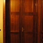 Restaureeritud uks, tamm