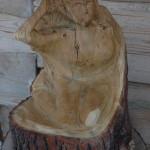 "Puuskulptuur, ""Metsahaldjas,"" PALMSE PUIT OÜ"